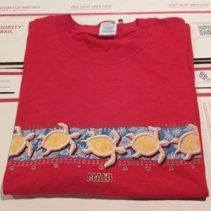 Hawaii t-shirt sea turtles 🐢